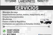 MUDANZA DE CASA,ENVIO A  MEX