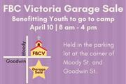Garage sale benefitting youth students to go to c