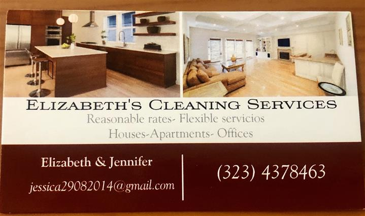Elizabeth's cleaning services image 1