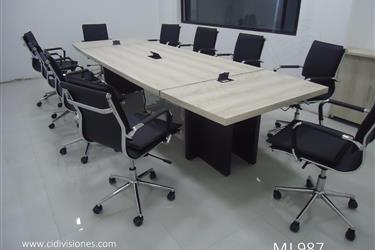 Mesas de Juntas fabricamos en La Paz