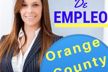 OFERTA DE EMPLEO en Orange County