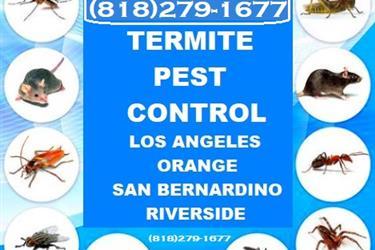 FUMIGADORES LICENCIAS L.A.- en Los Angeles County