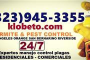FUMIGACIÓNES (323) 945-3355 en Los Angeles County