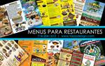 Menus de Restaurante Imprenta en Orange County