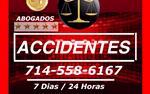 ☑ ACCIDENTES #1 en Orange County