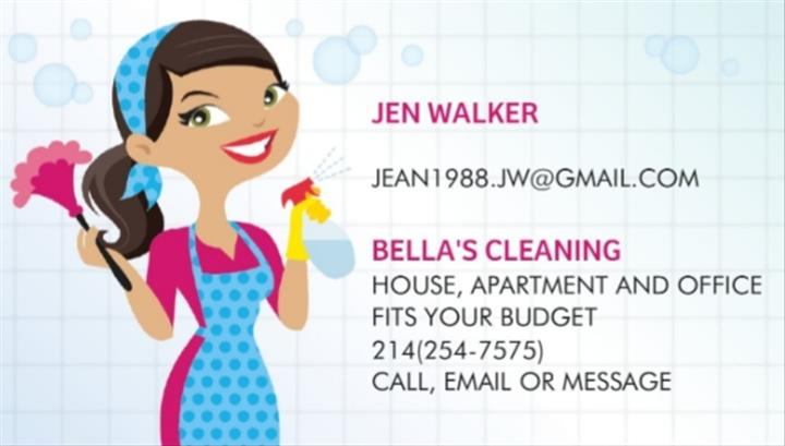 Bella's cleaning image 1