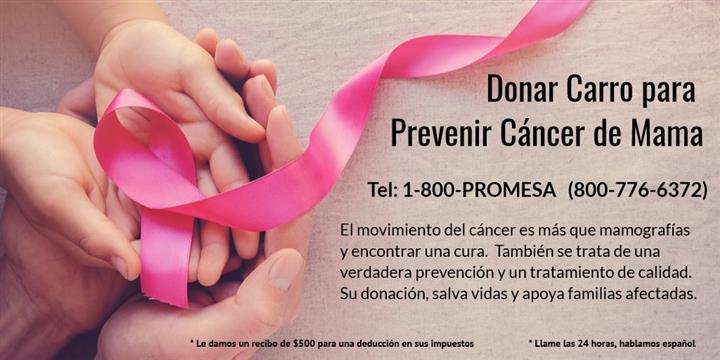 Donar Carro Mujeres con Cáncer image 2