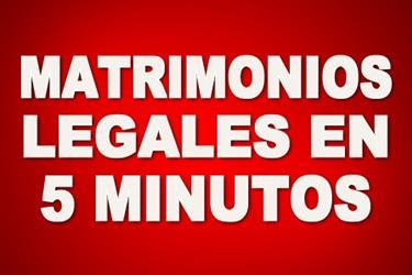 MATRIMONIOS LEGALES INMEDIATOS en Los Angeles