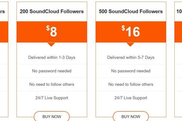 Buy Real SoundCloud Followers en New York