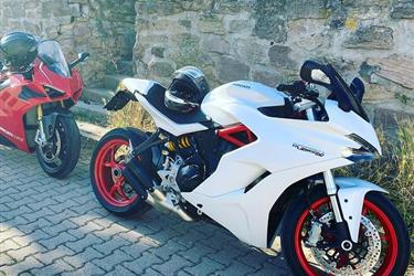 Motos Ducati en New Haven