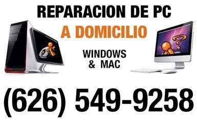 SERVICIO EN CASA PC Y MAC image 1