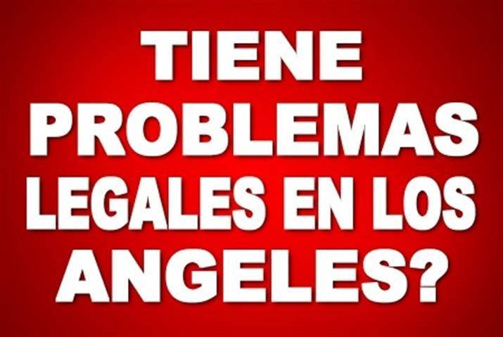 PROBLEMA LEGAL EN LOS ANGELES? image 1