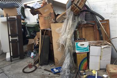eliminacion de basura en Los Angeles