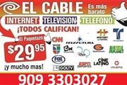 SERVICIO DE CABLE E INTERNET