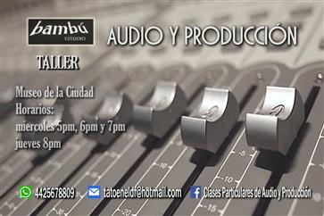 AUDIO Y PRODUCCIÓN / clases image 3